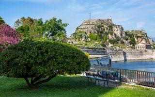 Το παλαιό φρούριο της Κέρκυρας. (Φωτογραφίες: Marianne Majerus)