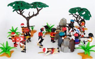 «Το '21 Αλλιώς. Η Ελληνική Επανάσταση σε διοράματα Playmobil» στο Εθνικό Ιστορικό Μουσείο.