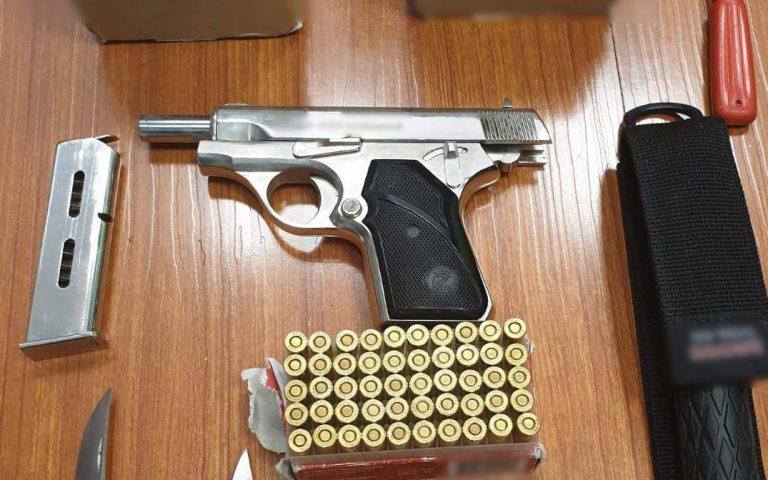 Σύλληψη 31χρονου για τα χθεσινά επεισόδια στο Ρέντη – «οπλοστάσιο» το σπίτι του