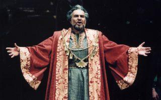 Ο Κώστας Πασχάλης άφησε ισχυρό αποτύπωμα στον χώρο της όπερας και στην ιστορία της Εθνικής Λυρικής Σκηνής.