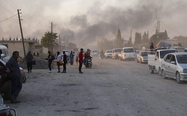 Διεθνής καταδίκη για την τουρκική εισβολή στη βορειοανατολική Συρία