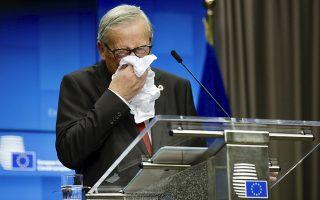 Ο πρόεδρος της Κομισιόν έδωσε σήμερα την τελευταία επίσημη συνέντευξη Τύπου πριν τη λήξη της θητείας του