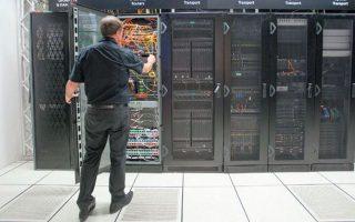 Μέσα στα επόμενα δύο χρόνια, στον υπερυπολογιστή θα πρέπει να μετακινηθούν τα πληροφοριακά συστήματα περίπου 17 υπουργείων.