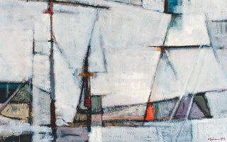 Πάρις Πρέκας. «Πανιά καϊκιών», 1962