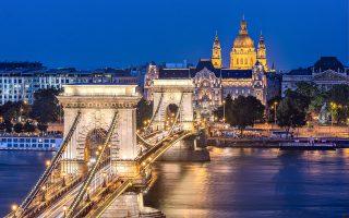 Η Αλυσιδωτή Γέφυρα της Βουδαπέστης. (Φωτογραφία: Getty Images/Ideal Image)