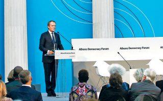 Στην «πολιτική παραφροσύνη που έχει κυριεύσει τη σύγχρονη Δύση» αναφέρθηκε από το βήμα του Athens Democracy Forum ο απερχόμενος πρόεδρος του Ευρωπαϊκού Συμβουλίου, Ντόναλντ Τουσκ, αποδοκιμάζοντας χωρίς περιστροφές την πολιτική αντιπαράθεση που βασίζεται «στη βία, στα ψεύδη και στον λόγο μίσους».