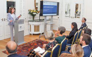 Η Γιάννα Αγγελοπούλου μιλάει για το πρόγραμμα με το όνομά της.