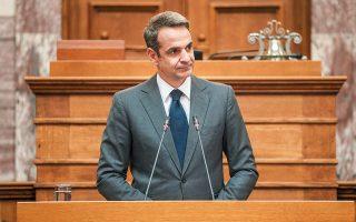 «H Ευρώπη συνολικά στη Σύνοδο θα παρέμβει δυναμικά για να στηρίξει την Κύπρο. Αυτό θα σημαίνει κλιμάκωση των κυρώσεων που έχουν ήδη επιβληθεί», υπογράμμισε ο κ. Μητσοτάκης.