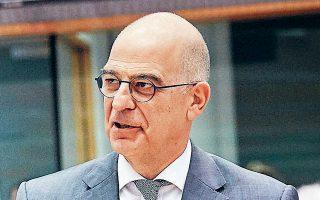 Ο κ. Δένδιας μετά τη συνεδρίαση του Συμβουλίου Εξωτερικών Υποθέσεων δήλωσε ότι η Ε.Ε. «μίλησε καθαρά για το θέμα των παραβιάσεων της κυριαρχίας και των κυριαρχικών δικαιωμάτων της Κύπρου».
