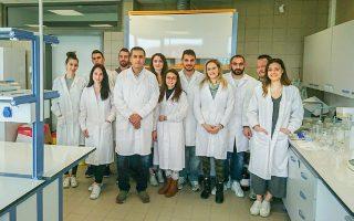 Οι ερευνητές του Τμήματος Βιοχημείας του Πανεπιστημίου Θεσσαλίας.