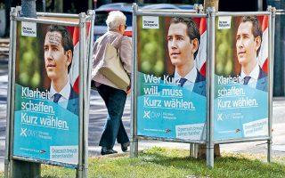 Το προεκλογικό χαμόγελο του Σεμπάστιαν Κουρτς μετεκλογικώς έγινε πλατύτερο και πλέον αναζητεί εταίρο για τον σχηματισμό κυβέρνησης.