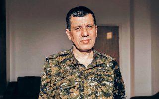 Ο Κομπάνι δήλωσε σαφώς ότι δεν πρόκειται να επιτρέψει την «τουρκική κατοχή» της ζώνης ασφαλείας.