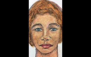 Σκίτσο άγνωστης γυναίκας, διά χειρός Σάμουελ Λιτλ, την οποία δολοφόνησε στο Αρκανσο.