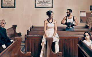 Η παράσταση «Λήθη. Τρεις νύχτες στην εκκλησία», του Δημήτρη Δημητριάδη, ανεβαίνει για τρεις βραδιές.