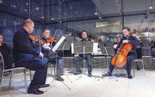 Το βραβευμένο Κουαρτέτο Εγχόρδων της Κρατικής Ορχήστρας Αθηνών στην Αίθουσα του Παρθενώνα με έργα Μπετόβεν και Ντβόρζακ.