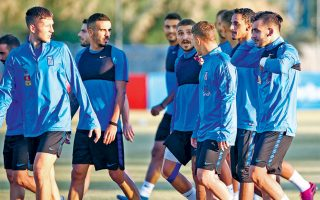 Η ελληνική ομάδα ολοκλήρωσε χωρίς προβλήματα την προετοιμασία της ενόψει του σημερινού αγώνα με τη Βοσνία στο ΟΑΚΑ.