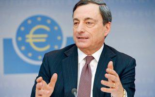 «Αν θέλετε να πιέσετε την Ελλάδα έξω από το ευρώ, κάντε το εσείς. Μη χρησιμοποιείτε την ΕΚΤ για να το κάνετε», αποκάλυψε ότι είχε πει ο Μάριο Ντράγκι, σε ένα Eurogroup, σε έναν υπουργό που υπεδείκνυε ή άφηνε να εννοηθεί ότι θα έπρεπε να είχαν αφήσει τους Ελληνες να φύγουν εδώ και πολύ καιρό.