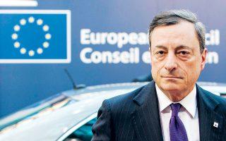 Πιο ενεργητική δημοσιονομική πολιτική στην Ευρωζώνη θα καθιστούσε εφικτή την άνοδο του κόστους δανεισμού, υποστήριξε ο κ. Ντράγκι.