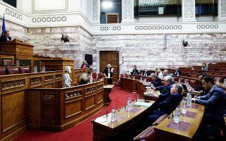 Η πιθανή συμφωνία για την ψήφο των αποδήμων και οι ενδεχόμενες αναγκαίες συνταγματικές αλλαγές οδήγησαν τη διακομματική επιτροπή για τη συνταγματική αναθεώρηση στη μετάθεση της συζήτησης για το άρθρο 54 και το σκέλος που αφορά τον εκλογικό νόμο στο τέλος της διαδικασίας.