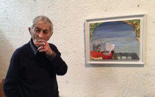 Ο Δημοσθένης Κοκκινίδης φιλοτέχνησε ένα έργο του για τα 100 χρόνια της «Κ».