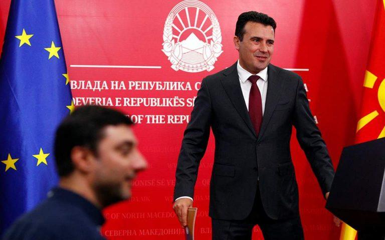 Ζάεφ: Θα εφαρμόσουμε πλήρως τη συμφωνία των Πρεσπών