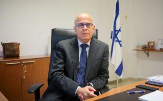 «Η άμυνα και η ασφάλεια είναι από τις πιο σημαντικές μηχανές της συνεργασίας μας η οποία μπορεί να αναπτυχθεί περαιτέρω», λέει στην «Κ» ο κ. Γιόσι Αμράνι.