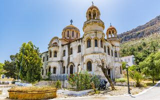 Ο ιστορικός ναός ξεκίνησε να κατασκευάζεται το 1904 αλλα δεν ολοκληρώθηκε ποτέ
