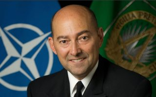 Τζέιμς Σταυρίδης, πρώην ανώτατος διοικητής Ευρώπης του ΝΑΤΟ, νυν υψηλόβαθμο στέλεχος του Carlyle Group.