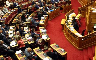 O πρόεδρος του ΣΥΡΙΖΑ Αλέξης Τσίπρας, μιλά στη συνέχεια της συζήτησης και ψήφιση του σχεδίου νόμου του Υπουργείου Ανάπτυξης και Επενδύσεων «Επενδύω στην Ελλάδα και άλλες διατάξεις», Πέμπτη 24 Οκτωβρίου 2019. ΑΠΕ-ΜΠΕ/ΑΠΕ-ΜΠΕ/Αλέξανδρος Μπελτές