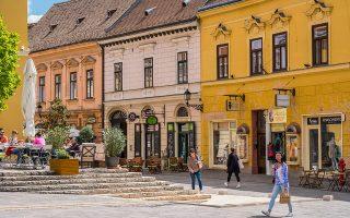 Το Πετς αποτελεί το διοικητικό, οικονομικό και πολιτιστικό κέντρο  της ουγγρικής επαρχίας Baranya. (Φωτογραφία: AFP/VISUALHELLAS.GR)