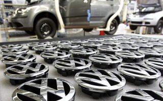 Η μετοχή της Volkswagen έκλεισε χθες με πτώση 3,03%.