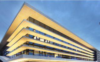 Το κτίριο έχει συνολικούς χώρους 16.277 τ.μ., εκ των οποίων υπέργεια είναι περίπου 10.000 τ.μ..