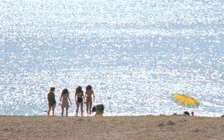 Στη γεμάτη φως και παιχνίδια στη θάλασσα «Winona» του Αλέξανδρου Βούλγαρη, μια παρέα νέων γυναικών περνάει μια μέρα σε κάποια έρημη παραλία.