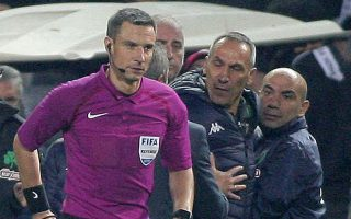 Ο προπονητής του Παναθηναϊκού κατηγορείται ότι απώθησε τον τέταρτο διαιτητή (Κουτσιαύτη) και κινδυνεύει με μεγάλη ποινή.