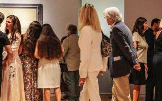 Το κοινό ανταποκρίθηκε θερμά στο άνοιγμα του μουσείου.