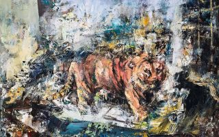 Η γκαλερί Σκουφά παρουσιάζει την ατομική έκθεση ζωγραφικής του Βασίλη Σούλη με τίτλο «Ανθρωπος που πέφτει». Τα εγκαίνια θα πραγματοποιηθούν την Πέμπτη 14 Νοεμβρίου στις 7.30 μ.μ. Διάρκεια: Εως 7 Δεκεμβρίου.