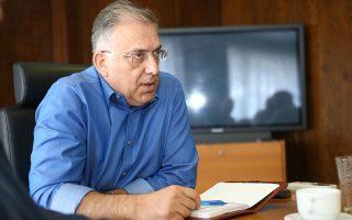 «Η προηγούμενη κυβέρνηση υπέγραψε για 502 έργα προϋπολογισμού 1,235 δισ. ευρώ, ενώ είχε διασφαλίσει με δανεισμό από την ΕΤΕπ 134 εκατ. ευρώ», λέει στην «Κ» ο Παναγιώτης Θεοδωρικάκος.
