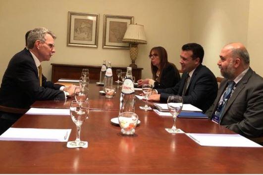 Συνάντηση Πάιατ – Ζάεφ για την ενταξιακή πορεία της Β. Μακεδονίας