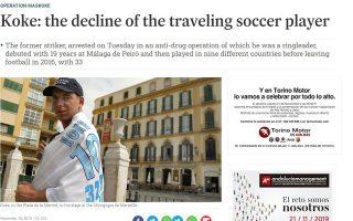 Δημοσιεύματα του ηλεκτρονικού Τύπου της Ισπανίας