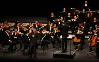 Με έναν ήχο κομψό και μεγάλης λεπτότητας, ο Λιου Ρούι απέδωσε με βαθύ λυρισμό το Κοντσέρτο για βιολί του Μέντελσον.