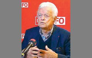 Ο πρόεδρος της ελβετικής επιτροπής, καθηγητής Dusan Sidjanski.