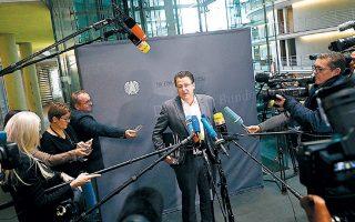 Ο ακροδεξιός Αλεξάντερ Μπράντνερ παραχώρησε συνέντευξη Τύπου μετά την απομάκρυνσή του από την προεδρία κοινοβουλευτικής επιτροπής.