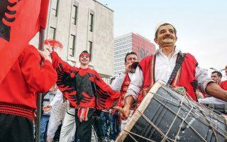 Φωτογραφία αρχείου από τις εκδηλώσεις για τα 100χρονα της ανεξαρτησίας της Αλβανίας, στα Τίρανα, στις 28 Νοεμβρίου 2012.