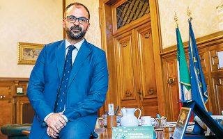 Ο Ιταλός υπουργός Παιδείας Λορέντσο Φιοραμόντι επιθυμεί η κλιματική αλλαγή να γίνει διδακτέα ύλη σε όλες τις βαθμίδες της εκπαίδευσης.