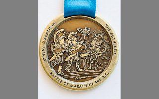 Το φετινό μετάλλιο φιλοτέχνησε ο Αλέκος Φασιανός.