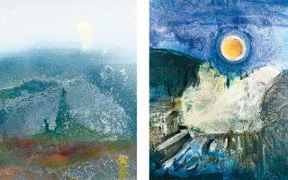 Με ποιητικές αλληγορίες μοιάζουν τα έργα του ζωγράφου Μανώλη Χάρου που παρουσιάζονται στη νέα του έκθεση.