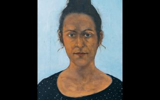 Πορτρέτα του Αποστόλη Ιτσκούδη, στην έκθεση «Οι εντιμότατοι φίλοι μου». Κέντρο Τεχνών «Μετς».
