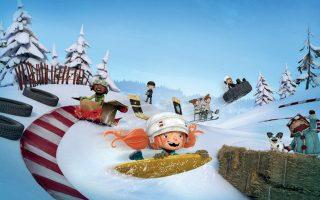 «Τρελές κόντρες στο χιόνι» του Μπενουά Γκοντμπού από τον Καναδά