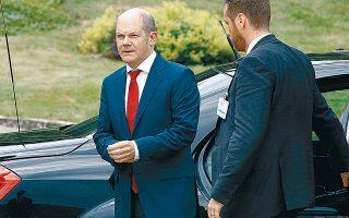 Η γερμανική κυβέρνηση δεν σκοπεύει να ακολουθήσει επεκτατική πολιτική, και ένθερμος υποστηρικτής της θέσης αυτής είναι ο υπουργός Οικονομικών Ολαφ Σολτς, ο οποίος έχει τονίσει ότι δεν χρειάζεται μια «εσπευσμένη» επιστράτευση δημοσιονομικών μέτρων.