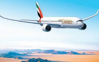 H παραγγελία της Emirates αφορά 50 αεροσκάφη Airbus Α350.